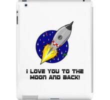 Love To The Moon iPad Case/Skin