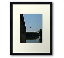 Ft Monroe -- Hampton, VA  Framed Print