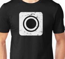 Square-Atmosphere-White Unisex T-Shirt