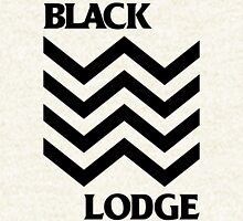 Black Lodge Zipped Hoodie