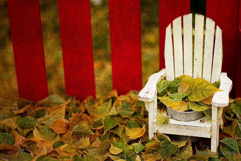 Guess It's Time To Rake The Leaves... by Rebecca Cozart