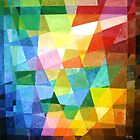 Prismatic Abstract by Joseph Barbara