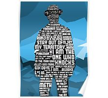 Walter White Quotes Poster