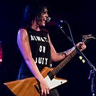 Sarah McLeod of Superjesus at Waves Nightclub by Malcolm Katon