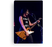 Sarah McLeod of Superjesus at Waves Nightclub Canvas Print