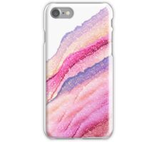 PINK GLITTER TO GOLD iPhone Case/Skin