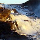 The Mighty Gullfoss, Iceland by Ritva Ikonen