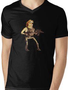 Snake Plissken Mens V-Neck T-Shirt