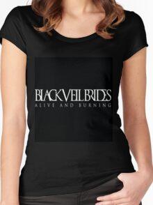 Black Veil Brides Women's Fitted Scoop T-Shirt