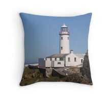 Fanad Lighthouse Throw Pillow