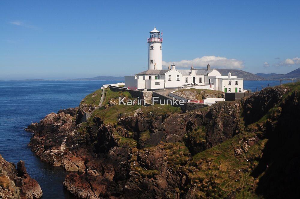 Fanad Lighthouse II by Karin  Funke