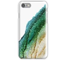 EMERALD GLITTER iPhone Case/Skin