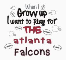 When I Grow Up... (Atlanta - Football) Kids Clothes