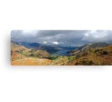 Ullswater from Arnison's Crag Canvas Print