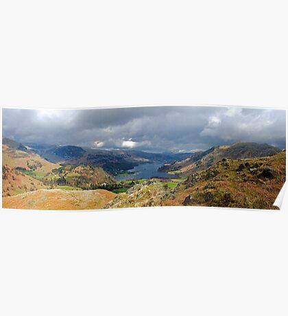 Ullswater from Arnison's Crag Poster