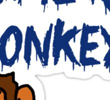 H2O Monkey Sticker