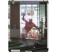 MLB Cincinnati Reds Baseball Stadium/Museum at Night Photo iPad Case/Skin