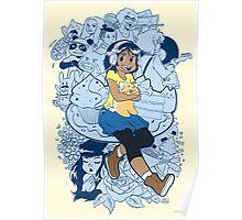Comic Doodles  Poster