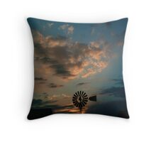 Sonsondergang op Spes Bona Throw Pillow