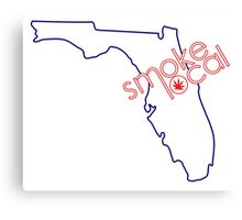 Smoke Local Weed in Orlando Florida (FL) Canvas Print