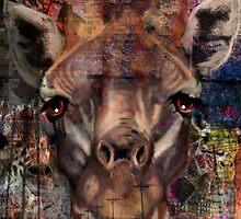Concrete Giraffe by J-o-v
