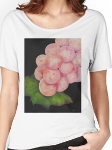 Pink Grapes Women's Relaxed Fit T-Shirt