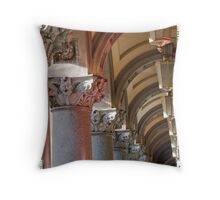Martin Place Post Office Throw Pillow