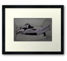 """ Make yourself at home "" Framed Print"