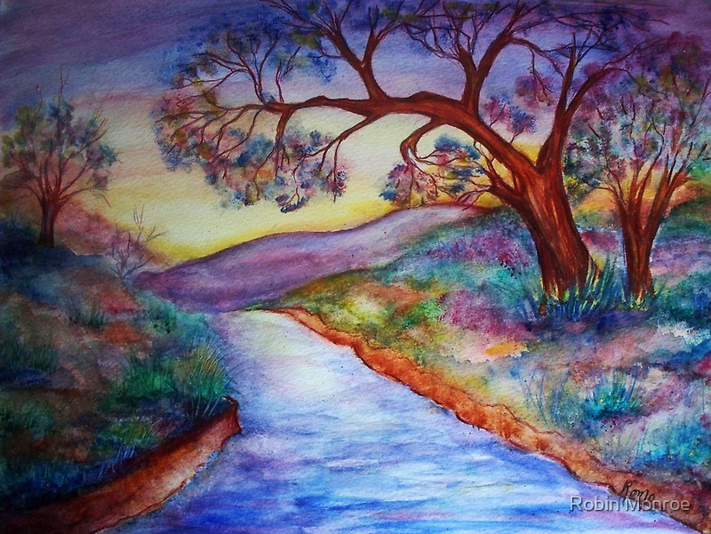 Down by the River... by Robin Monroe