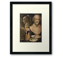 Shakespeare For Tea  Framed Print