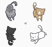 Soft Kitty, Warm Kitty One Piece - Short Sleeve