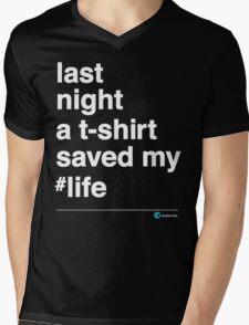 Last Night Mens V-Neck T-Shirt