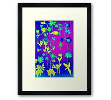 flowers and decorations Framed Print