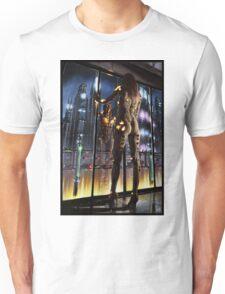 Cyberpunk Painting 064 Unisex T-Shirt