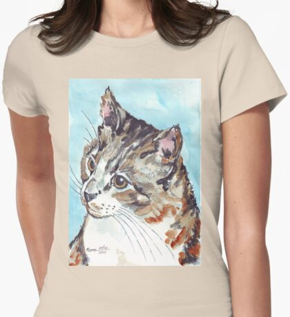 A Tabby superb! Womens Fitted T-Shirt