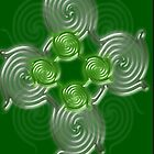 Green Abstract  pattern  (2496 Views) by aldona