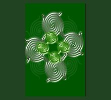 Green Abstract  pattern  (2917 Views) by aldona