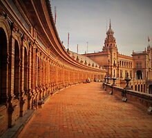 Plaza De Espana Upper Level by anjamo927