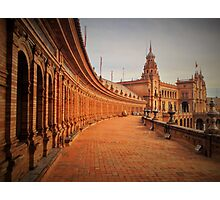 Plaza De Espana Upper Level Photographic Print