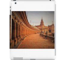 Plaza De Espana Upper Level iPad Case/Skin