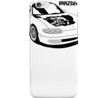 Mazda MX-6 (Model Name, Right) iPhone Case/Skin