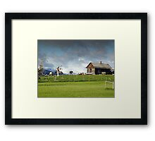 Old Homestead Framed Print
