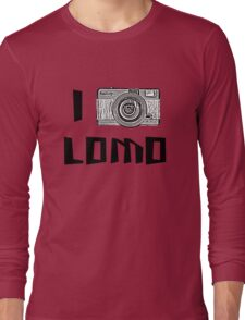 I Love Lomo Long Sleeve T-Shirt
