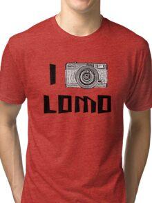 I Love Lomo Tri-blend T-Shirt