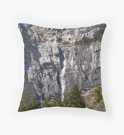 Waterfall-Akamina Parkway Throw Pillow
