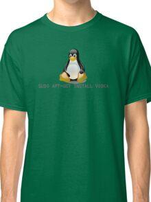 Linux - Get Install Vodka Classic T-Shirt