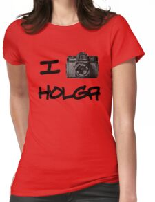 I Love Holga Womens Fitted T-Shirt