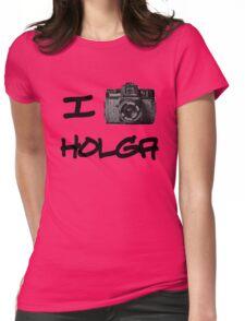 I Love Holga Womens Fitted T-Shirt