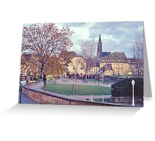 Petite-France II Greeting Card