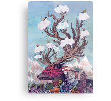 Journeying Spirit (deer) Metal Print
